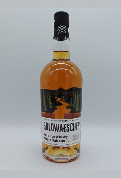 Goldwaescher Pure Rye Whisky Virgin Oak 43% Vol. Inhalt 70 cl