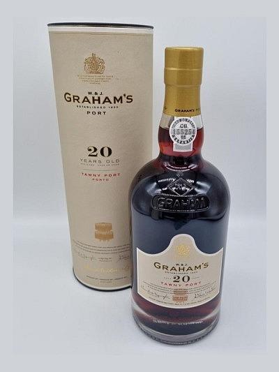 Graham's Porto Tawny 20 years 20% Vol. 75 cl